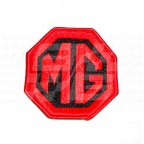 Image for CLOTH BADGE RED/BLACK MG