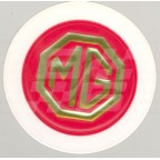 Image for TAX DISC HOLDER 'MG' GOLD