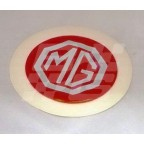 Image for TAX DISC HOLDER 'MG' SILVER