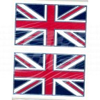 Image for UNION JACK (PAIR) ADHESIVE