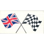 Image for UNION JACK/CHEQUERED FLAG