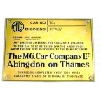 Image for TC CHASSIS PLATE