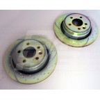 Image for PAIR REAR DISC TURBO GROOVE ZT & ZTT