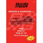 Image for MGB CATALOGUE BROWN & GAMMONS **UK delivery**