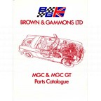 Image for MGC CATALOGUE ***Sent to Europe***
