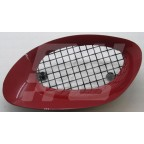 Image for Air intake bezel LH Flame Red