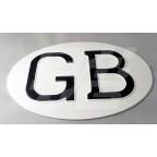 Image for GB plate alloy white black