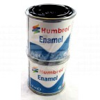 Image for BLACK HUMBROL ENAMEL PAINT 50ML SOLD IN 2'S