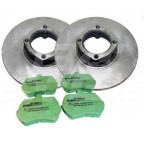 Image for DISC/PAD KIT MIDGET WIRE WHEEL