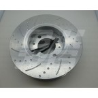 Image for Rear Grooved espotted Disc MGF Pair