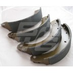 Image for Brake Shoe Set Rear Austin Healey 3000