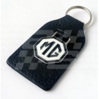 Image for BLACK KEY FOB WITH MG BLK/WHIT