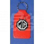 Image for RED KEY FOB WITH BLK/WHITE MG