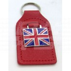 Image for RED KEY FOB WITH UNION JACK