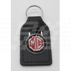 Image for Key Fob Black with MG in Red/Black