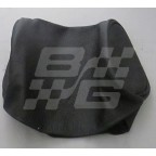 Image for BLK LEATHER H/REST COVER SMALL