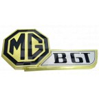 Image for MGB GT GOLD TAILGATE BADGE
