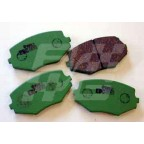 Image for MX5 FRT BRAKE PADS GREENSTUFF