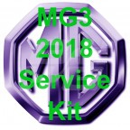 Image for Service Kit MG3 2018 model