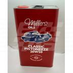 Image for Millers Classic Pistoneeze 20w50 oil - 5 litre