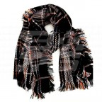 Image for MG Checked blanket scarf
