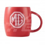 Image for Curved MG Mug Red with White  MG Branded