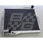 Image for Alloy radiator MGB 1976-80 rubber bumper