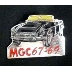 Image for PIN BADGE MGC BLACK