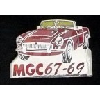 Image for PIN BADGE MGC RED