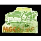 Image for PIN BADGE MGC GREEN