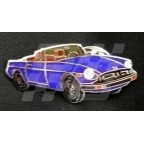 Image for PIN BADGE MGB R/B BLUE