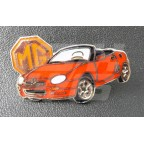 Image for PIN BADGE MGF RED