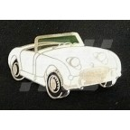 Image for PIN BADGE FROGEYE WHITE