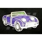 Image for PIN BADGE FROGEYE BLUE