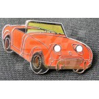 Image for PIN BADGE FROGEYE RED