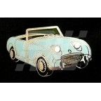 Image for PIN BADGE FROGEYE LIGHT BLUE