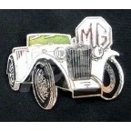 Image for PIN BADGE MG TC BEIGE