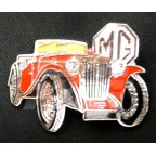 Image for PIN BADGE MG TC RED