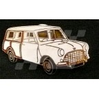 Image for PIN BADGE MINI COUNTRYMAN WHT