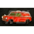 Image for PIN BADGE MINI VAN RED