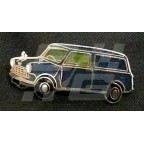 Image for PIN BADGE MINI VAN BLUE
