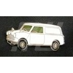 Image for PIN BADGE MINI VAN WHITE