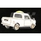 Image for PIN BADGE MINI PICK-UP WHITE