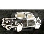 Image for PIN BADGE MINI PICK-UP BLACK