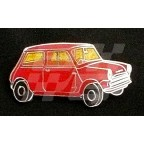 Image for PIN BADGE MINI SALOON RED