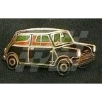 Image for PIN BADGE MINI SALOON BLACK
