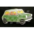 Image for PIN BADGE MINI SALOON GREEN