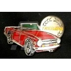 Image for PIN BADGE TR6 RED