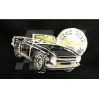 Image for PIN BADGE TR6 BLACK