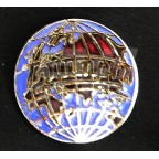 Image for PIN BADGE TRIUMPH WORLD LOGO